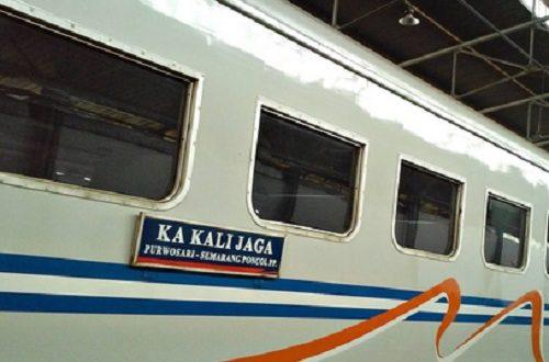Kereta Kalijaga Semarang Solo Berhenti Operasi Mulai 1 Desember 2019